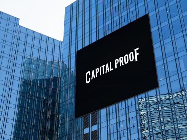 Sample branding #2 for Capitalproof