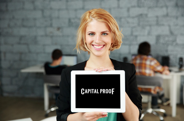 Sample branding #1 for Capitalproof