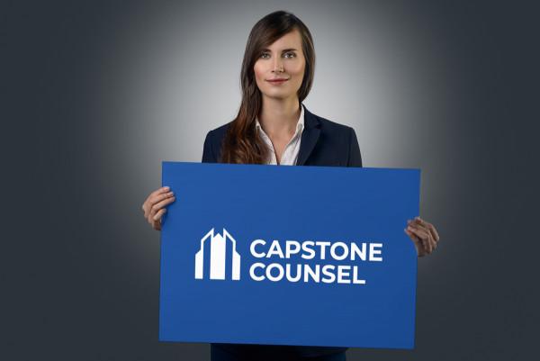 Sample branding #3 for Capstonecounsel