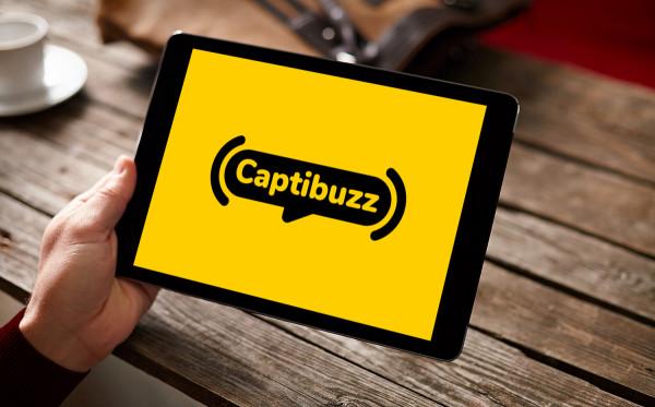 Sample branding #2 for Captibuzz