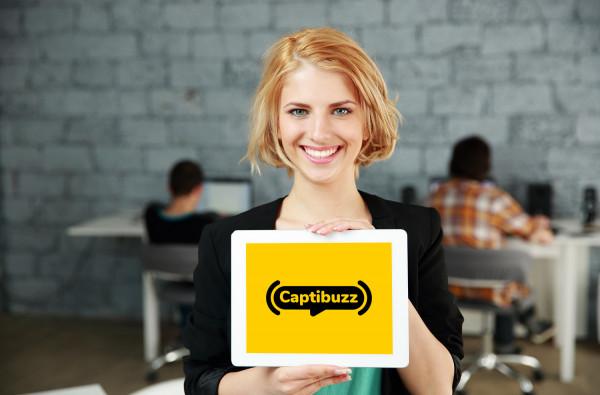 Sample branding #3 for Captibuzz
