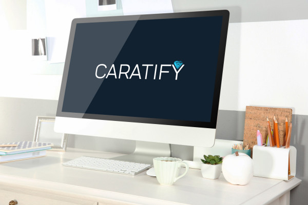 Sample branding #1 for Caratify
