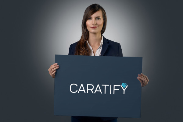 Sample branding #2 for Caratify