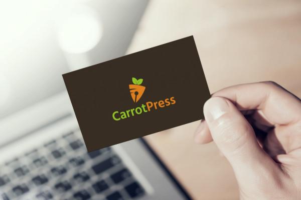 Sample branding #3 for Carrotpress