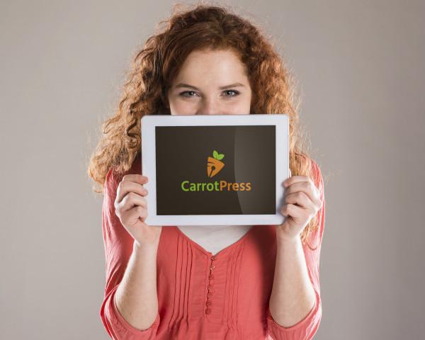 Sample branding #2 for Carrotpress
