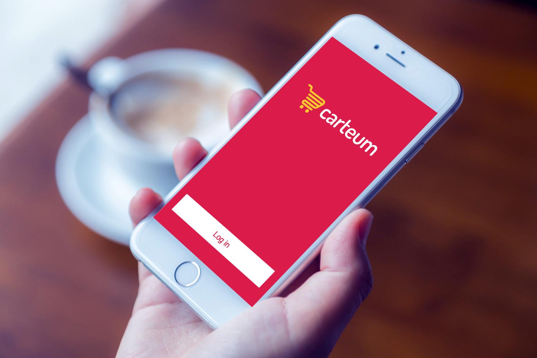 Sample branding #1 for Carteum