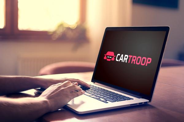 Sample branding #1 for Cartroop