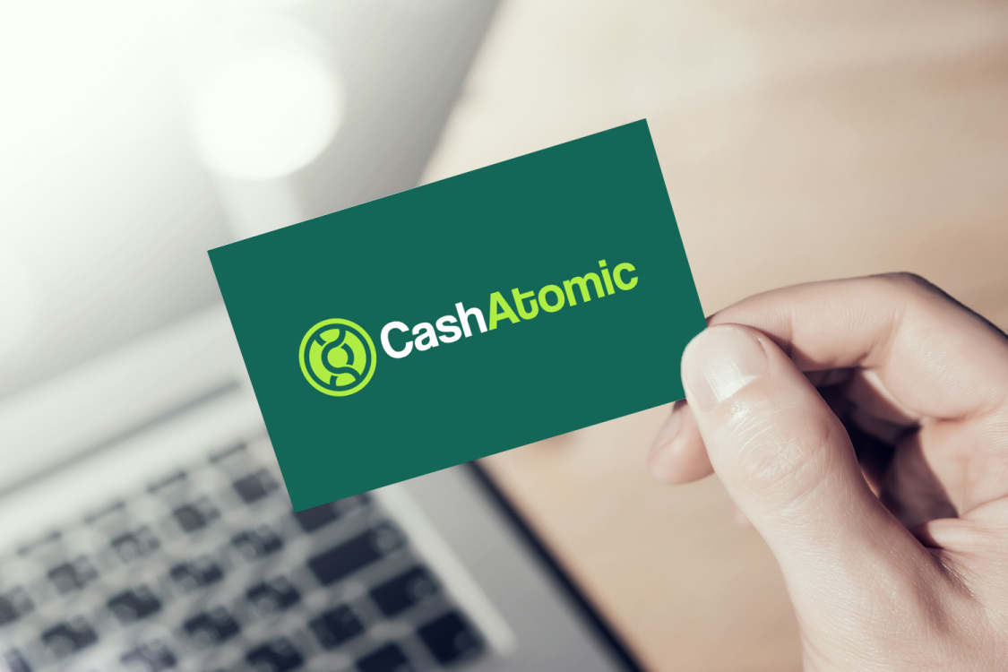 Sample branding #2 for Cashatomic