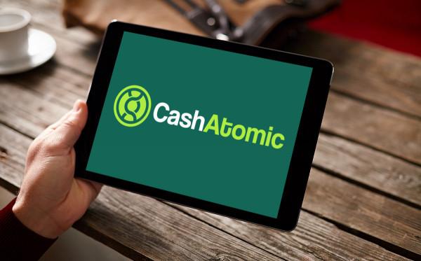 Sample branding #3 for Cashatomic