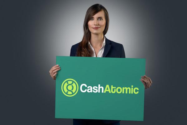 Sample branding #2 for Cashatomic