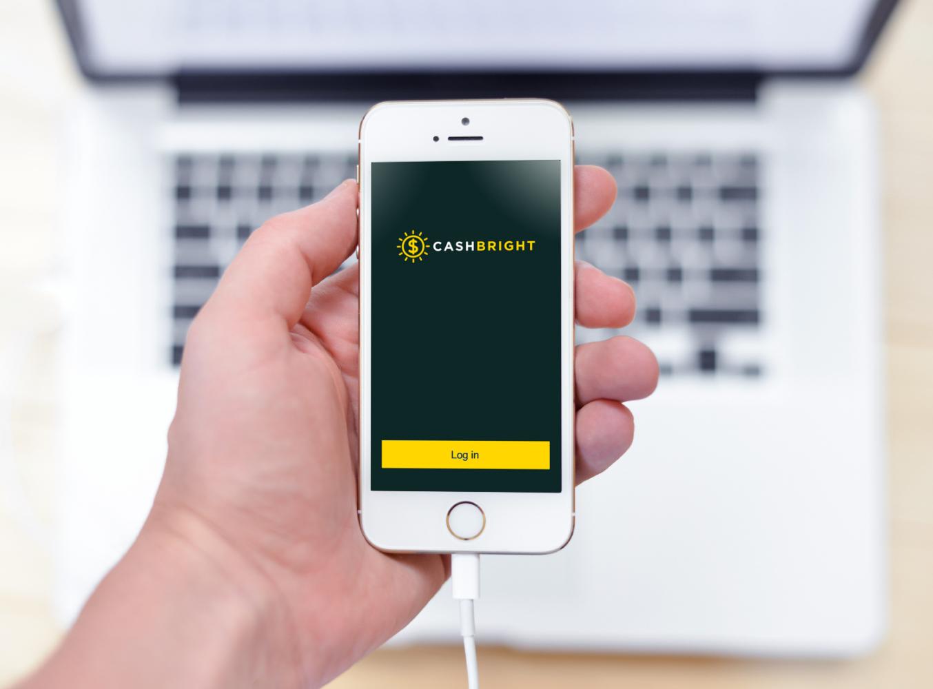 Sample branding #3 for Cashbright