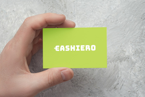 Sample branding #2 for Cashiero