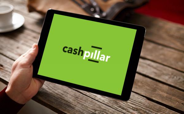 Sample branding #1 for Cashpillar