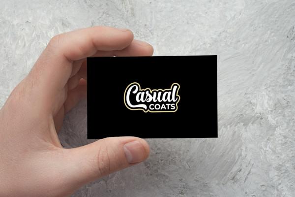 Sample branding #1 for Casualcoats