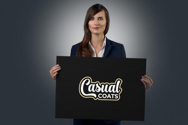 Sample branding #3 for Casualcoats