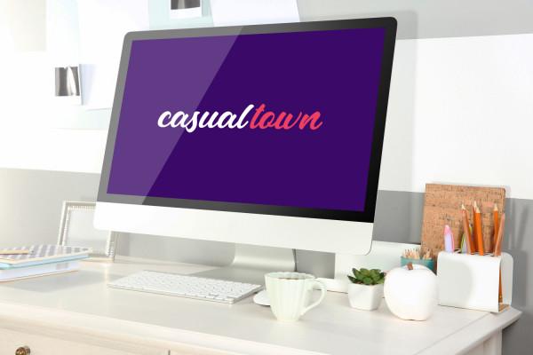 Sample branding #1 for Casualtown