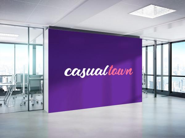 Sample branding #3 for Casualtown