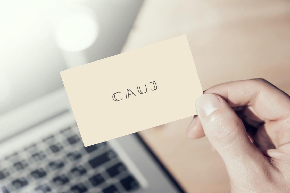 Sample branding #3 for Cauj