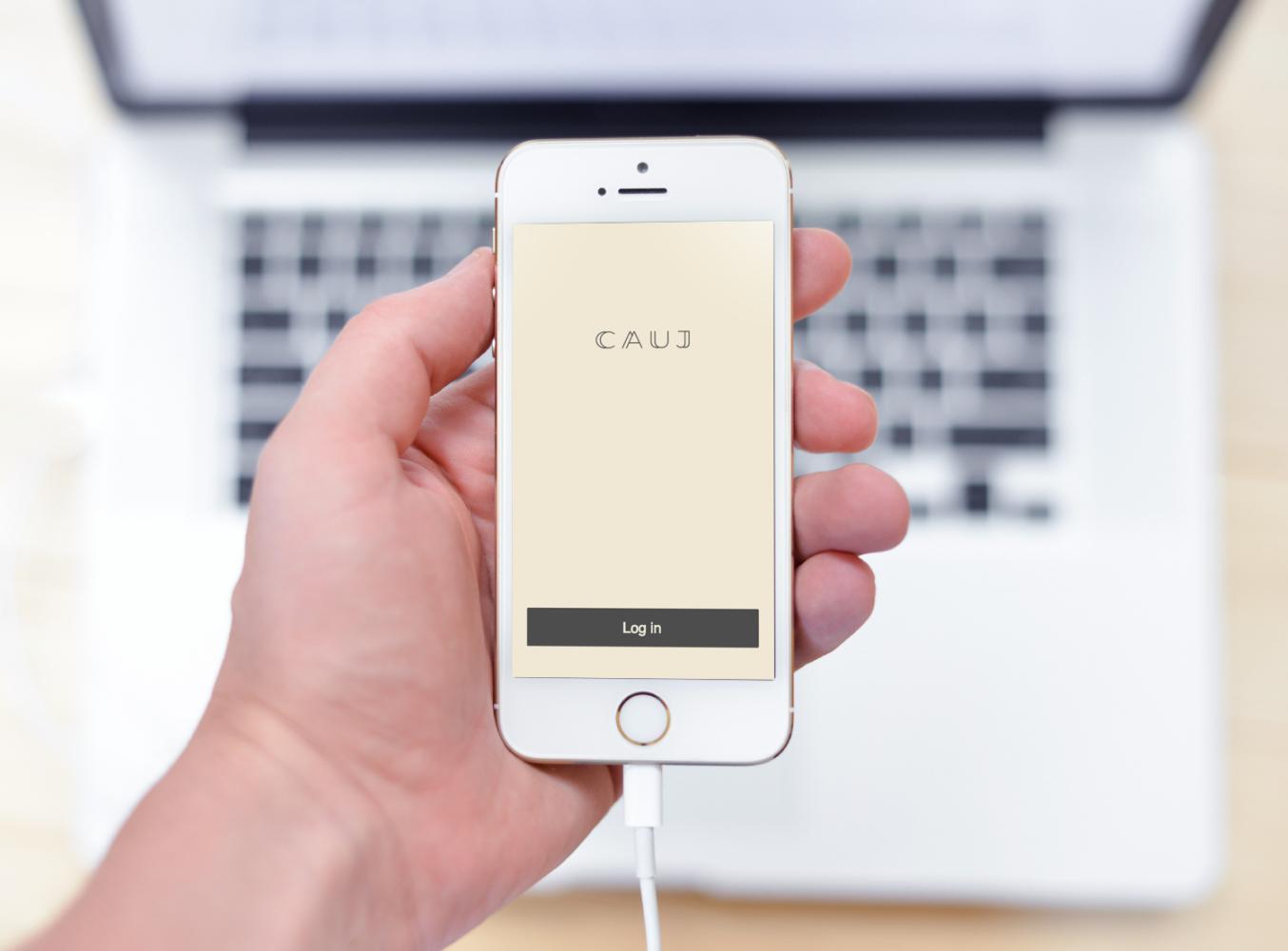 Sample branding #2 for Cauj