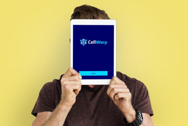 Sample branding #3 for Cellwarp