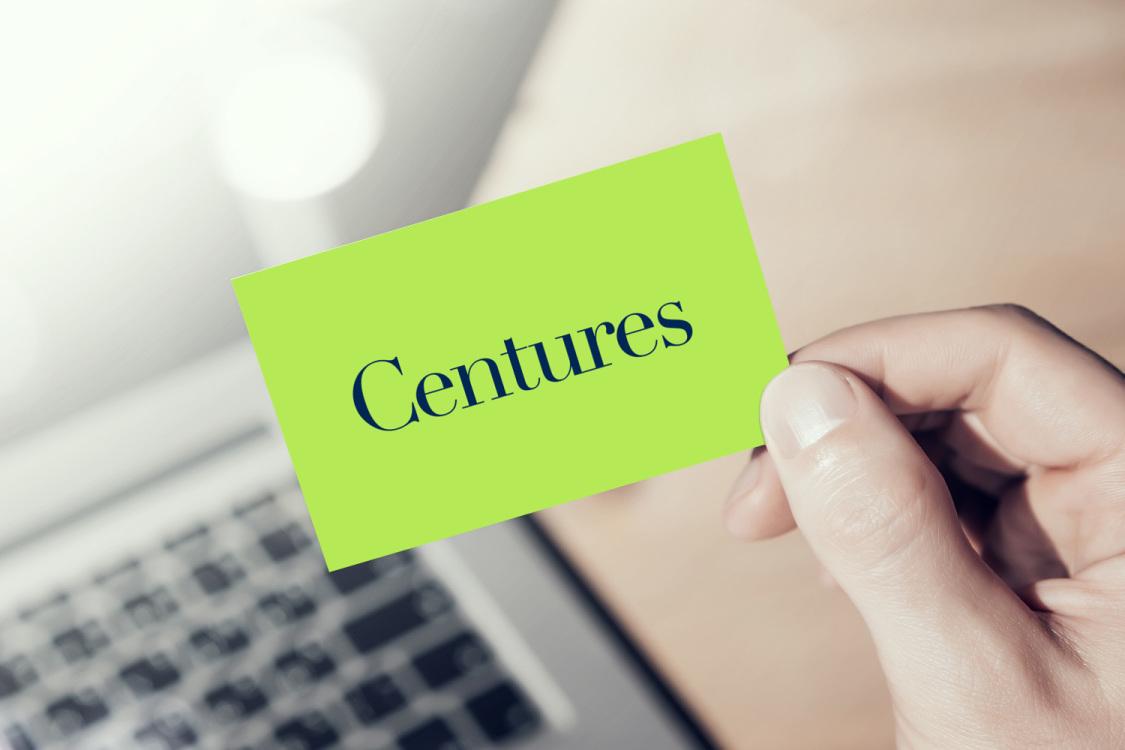 Sample branding #3 for Centures