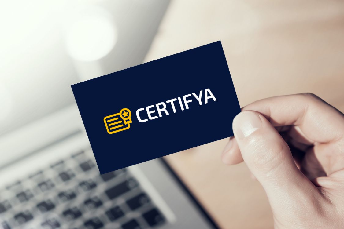Sample branding #1 for Certifya