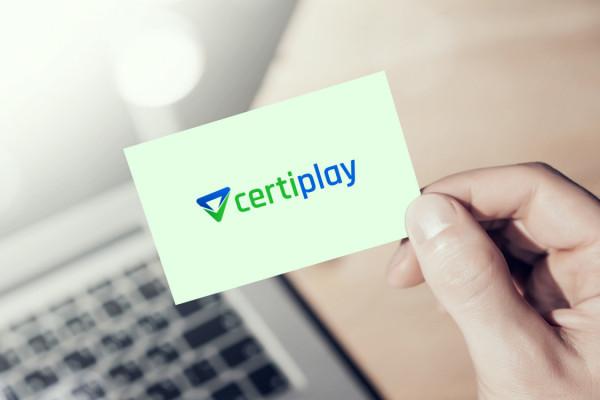 Sample branding #2 for Certiplay