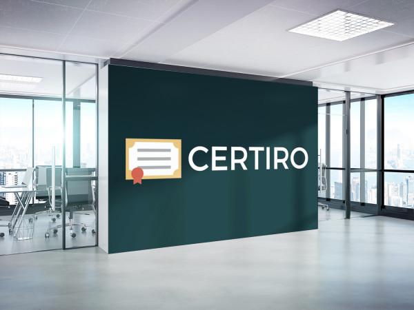 Sample branding #2 for Certiro