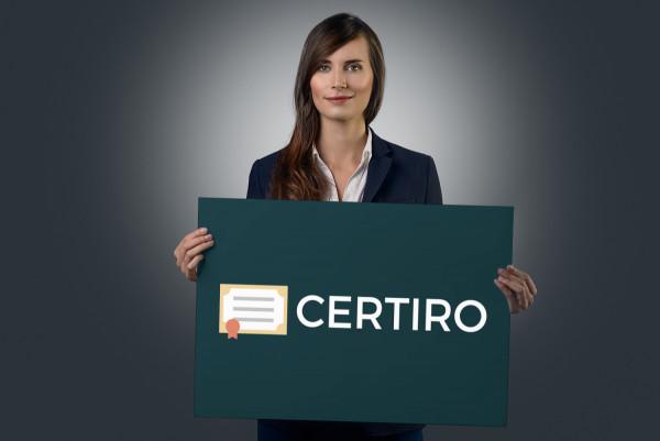 Sample branding #1 for Certiro