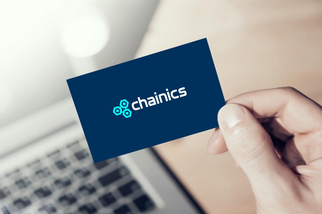 Sample branding #1 for Chainics