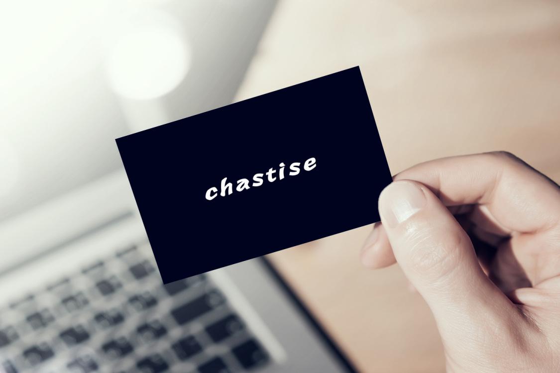 Sample branding #3 for Chastise
