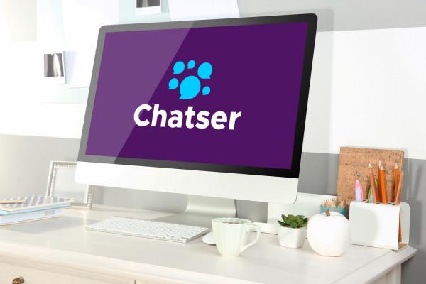 Sample branding #2 for Chatser