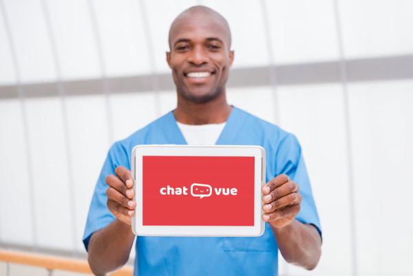 Sample branding #3 for Chatvue