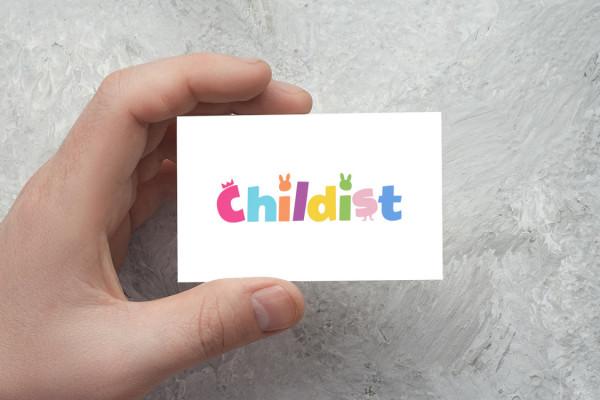 Sample branding #1 for Childist