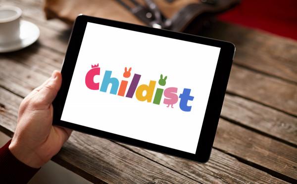 Sample branding #2 for Childist