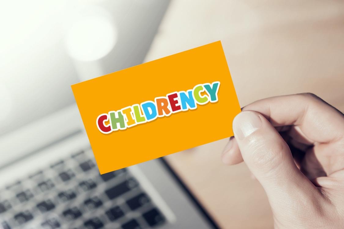 Sample branding #2 for Childrency