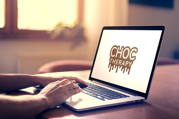 Sample branding #2 for Choctherapy