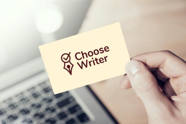 Sample branding #2 for Choosewriter