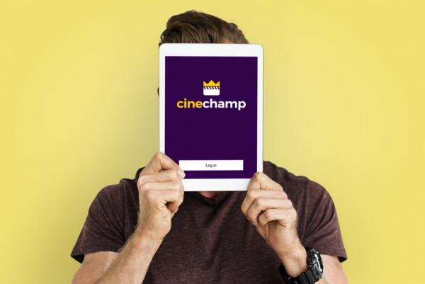 Sample branding #2 for Cinechamp
