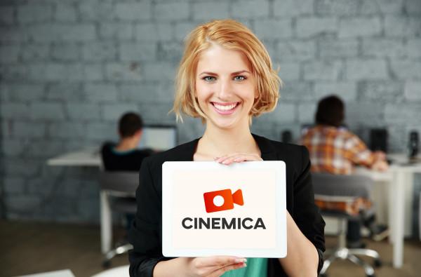 Sample branding #3 for Cinemica