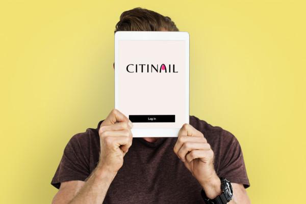 Sample branding #2 for Citinail