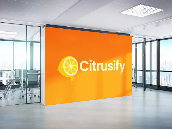 Sample branding #2 for Citrusify