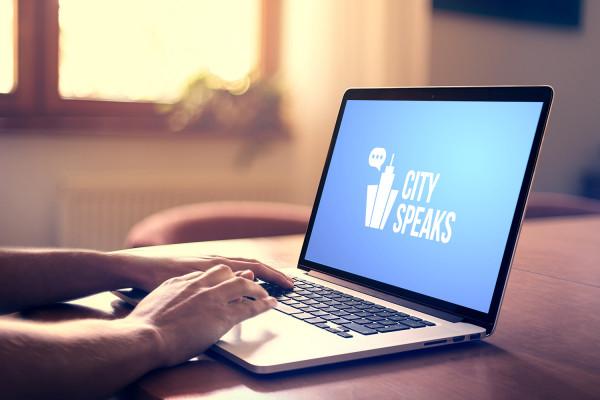 Sample branding #2 for Cityspeaks