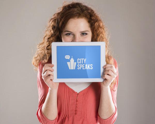 Sample branding #1 for Cityspeaks