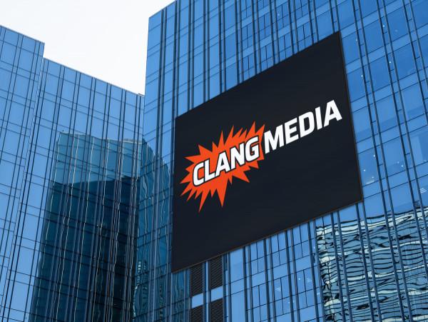Sample branding #3 for Clangmedia