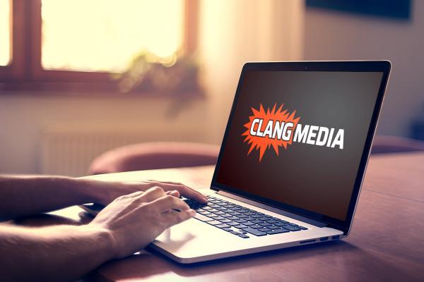 Sample branding #2 for Clangmedia
