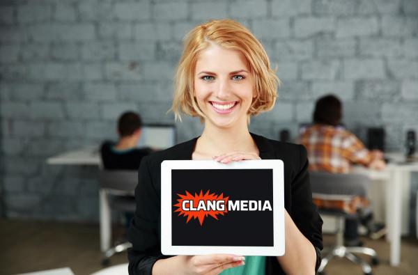 Sample branding #1 for Clangmedia