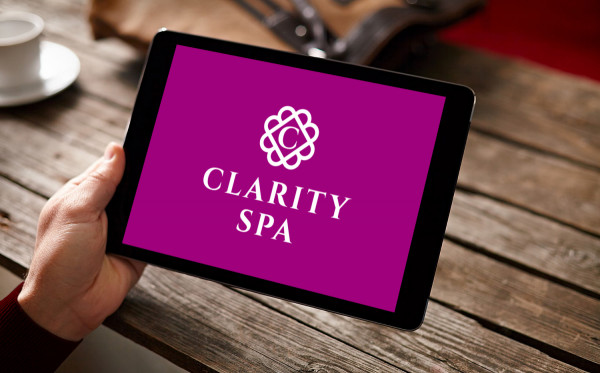 Sample branding #1 for Clarityspa