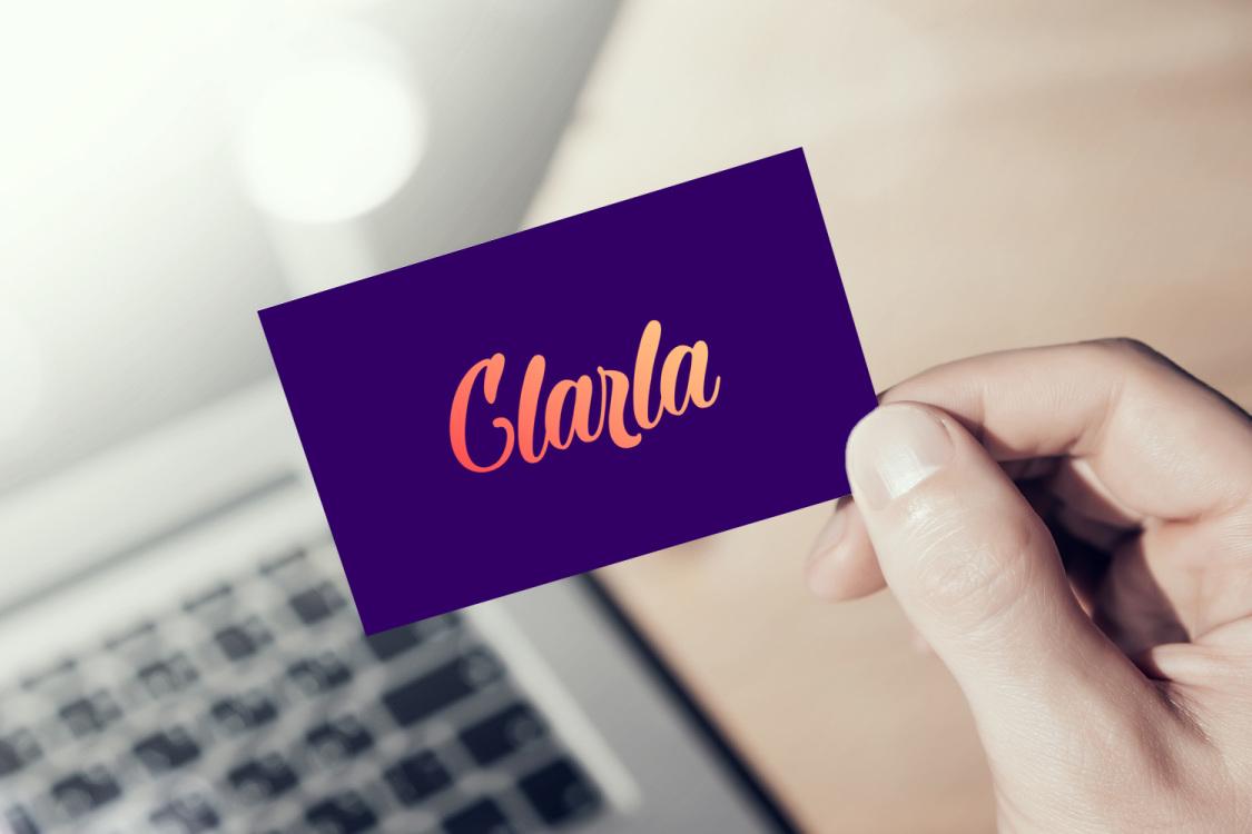 Sample branding #2 for Clarla
