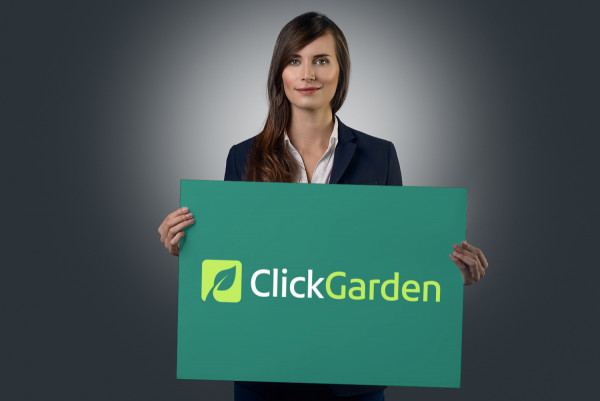 Sample branding #1 for Clickgarden